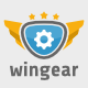Wingear Logo  - GraphicRiver Item for Sale