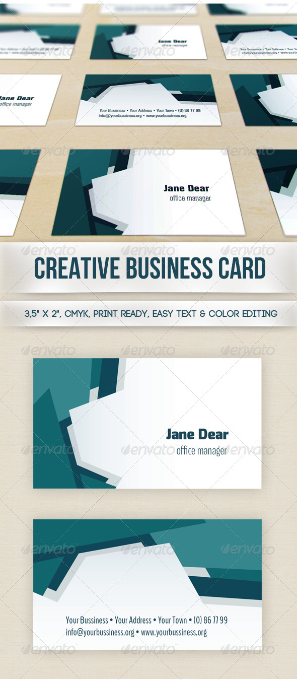 GraphicRiver Creative Business Card 5678102