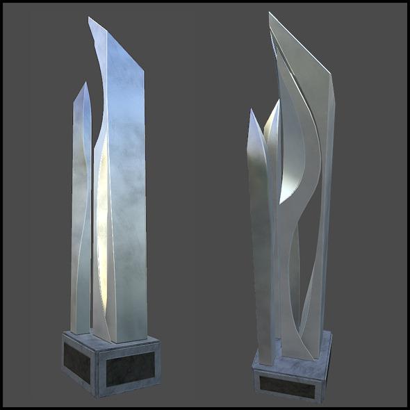 3DOcean Metal Art Pillar 5744386
