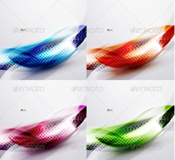 GraphicRiver Wave Color Backgrounds 5744411