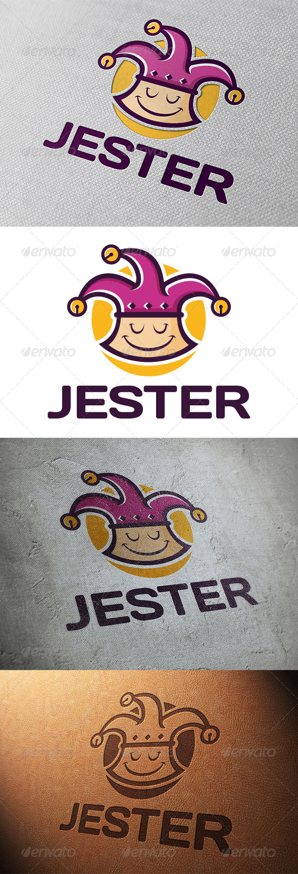 GraphicRiver Jester Logo Template 5744776