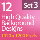 Web Background Design 1920x1200 (Set 3) - GraphicRiver Item for Sale
