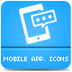 Mobile Application Icons Pack - GraphicRiver Item for Sale