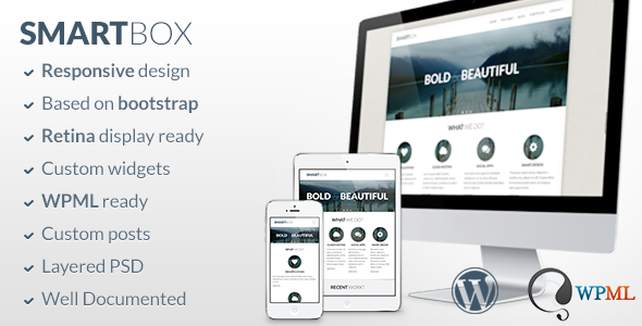 SmartBox - Responsive Wordpress Bootstrap Theme - Business Corporate