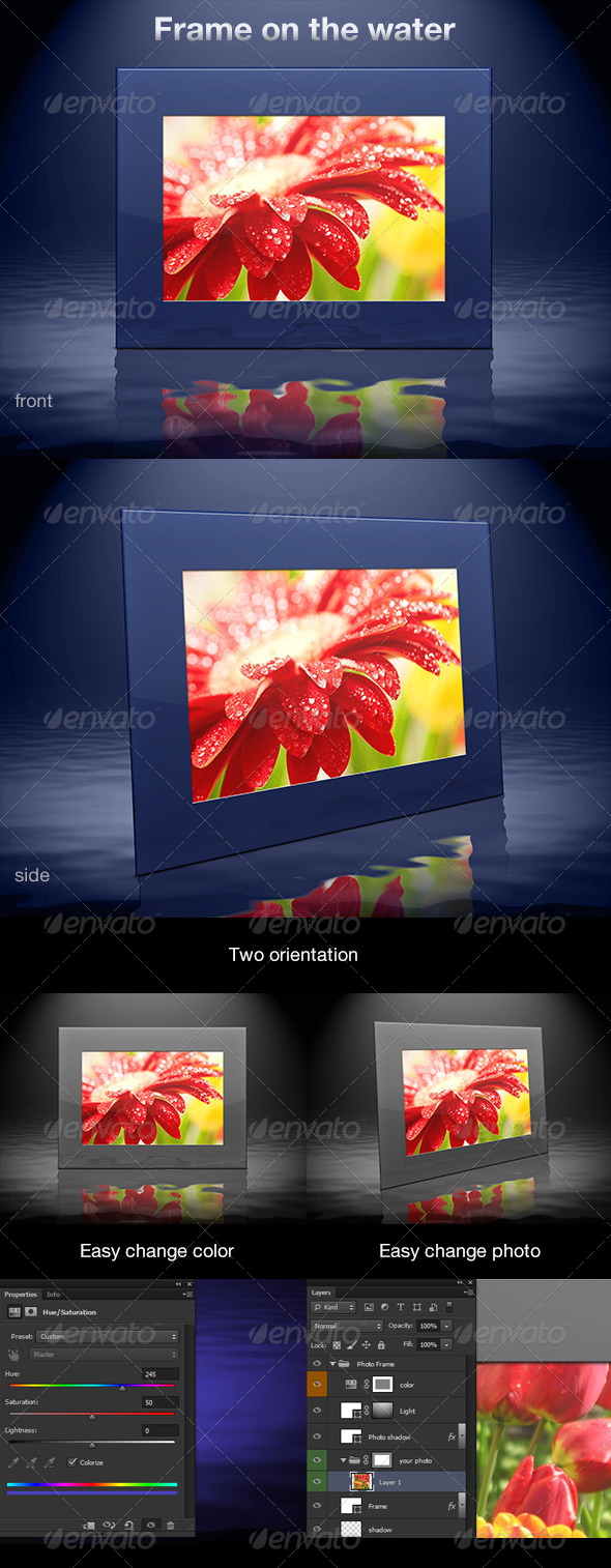 GraphicRiver Frame on the Water 5745946