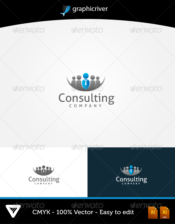 GraphicRiver Consulting Logo 5747060