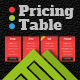 3 Color Simple Pricing Table - GraphicRiver Item for Sale