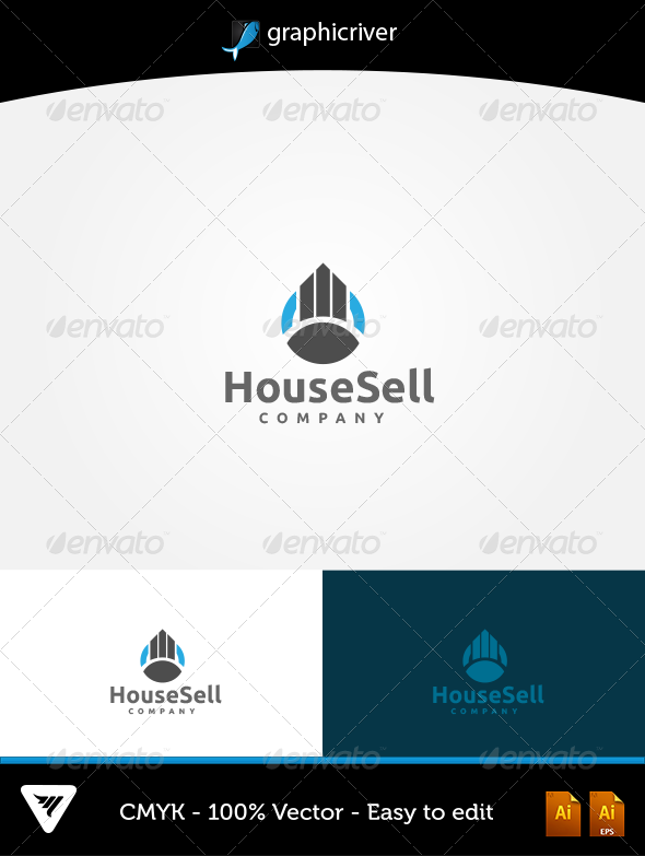 GraphicRiver Housesell Logo 5747216