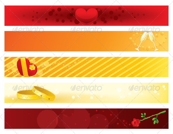 GraphicRiver Valentines Day Banners 5747272