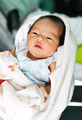 Newborn asian baby girl in hospital - PhotoDune Item for Sale