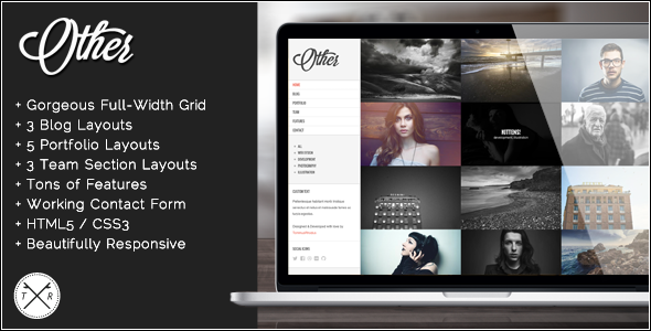 ThemeForest Other Retina Ready Photography HTML5 Template 5748318