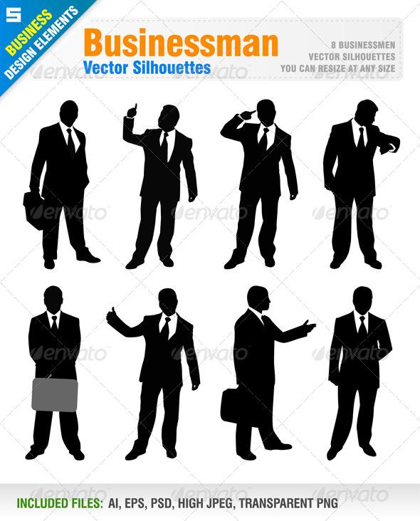 GraphicRiver Businessman 5749167