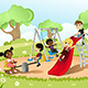 Children in Playground - GraphicRiver Item for Sale