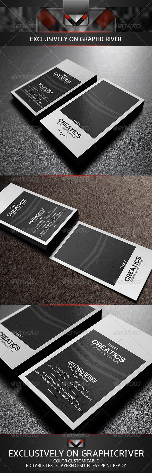 GraphicRiver Elegant Business Card 5751309