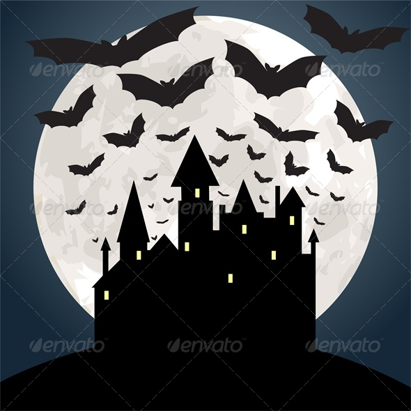 GraphicRiver Halloween Background 5753087