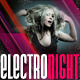Electro NIGHT Flyer + Postcard - GraphicRiver Item for Sale