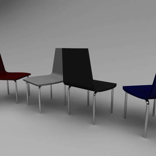 3DOcean Simple Chair 5753609