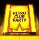 Retro Club Party Promo - VideoHive Item for Sale