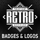 10 Retro Badges & Logos vol.2 - GraphicRiver Item for Sale