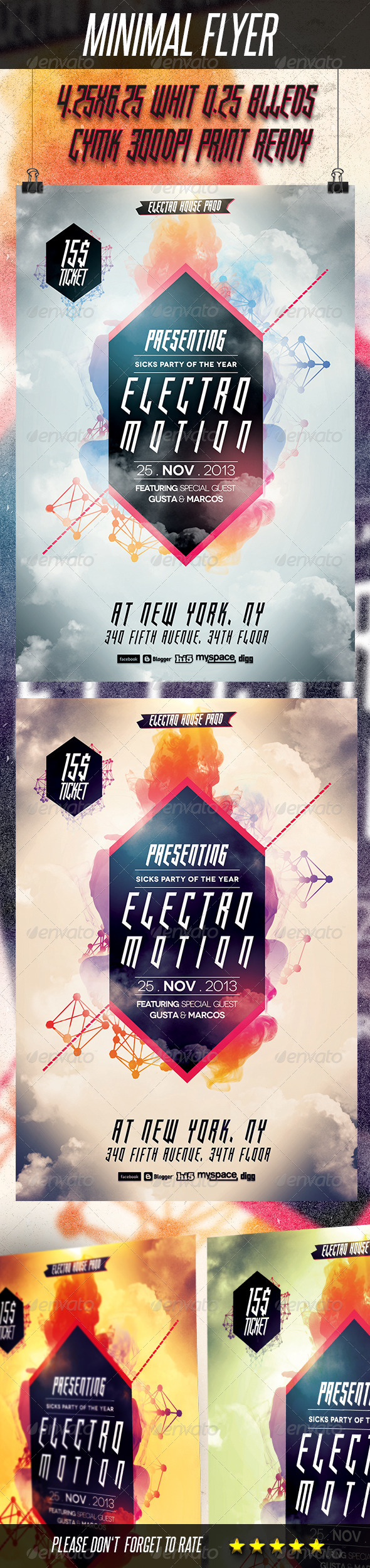 GraphicRiver Minimal Flyer 5755238