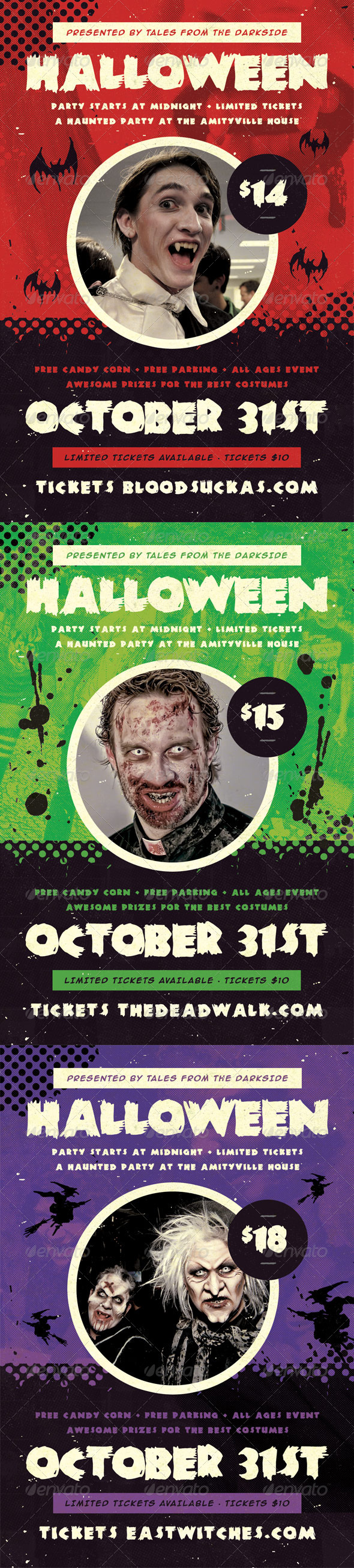 GraphicRiver Haunted Halloween Flyer Template 5755729