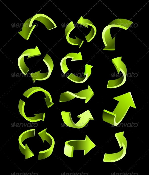 GraphicRiver Arrow Set 5756043