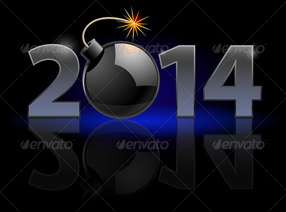 GraphicRiver New Year 2014 5756115