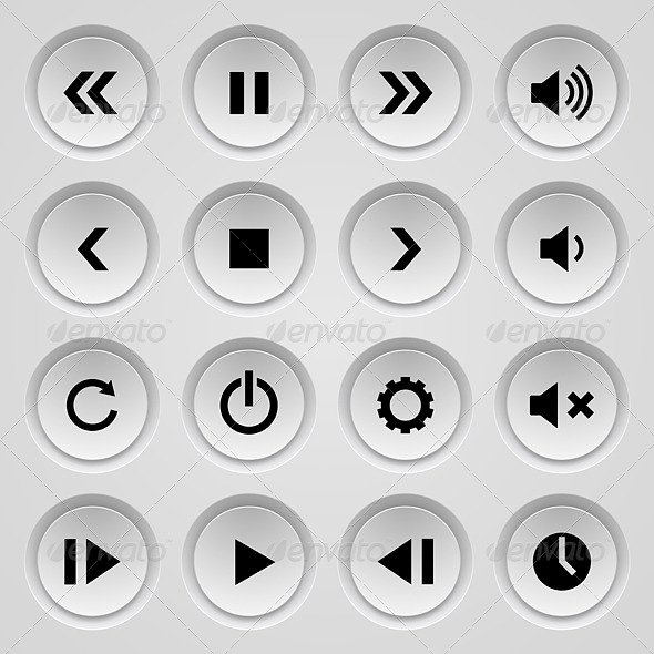 GraphicRiver Set of Buttons 5756116