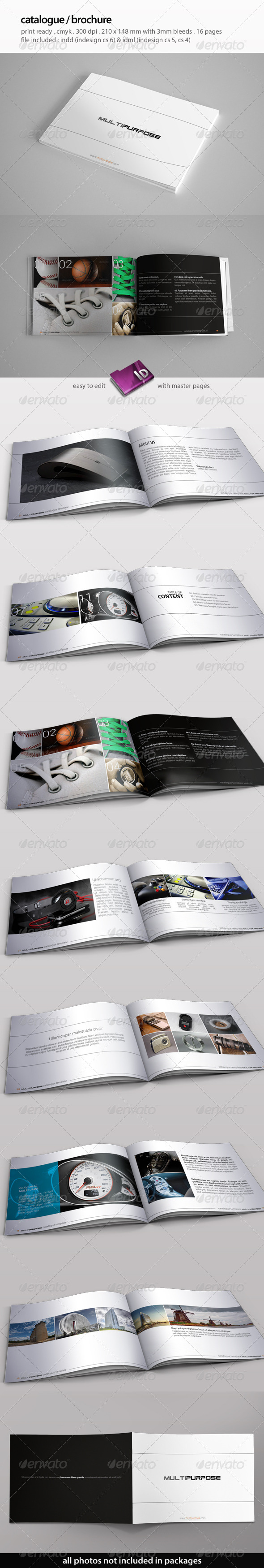 GraphicRiver Multipurpose Catalogue Template 5756209