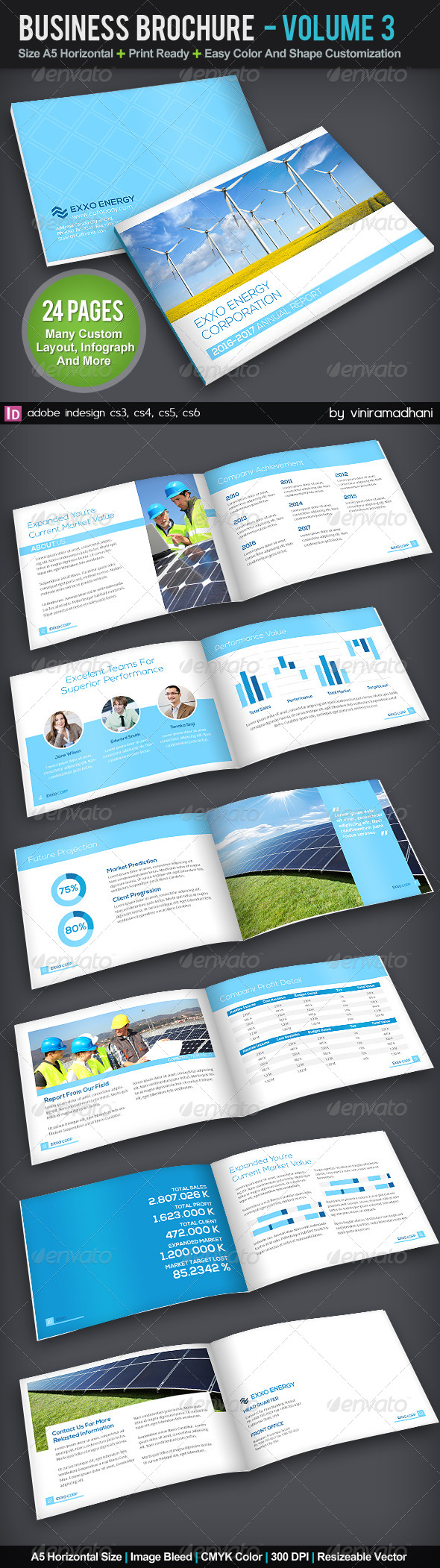 GraphicRiver Corporate Business Brochure Volume 3 5757998