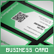 Flat & Cool QR Code Business Card - GraphicRiver Item for Sale