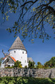 Round church Ols Kirke St. on Bornholm - PhotoDune Item for Sale