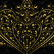 Gold Openwork Pattern in the Form of Heart - GraphicRiver Item for Sale