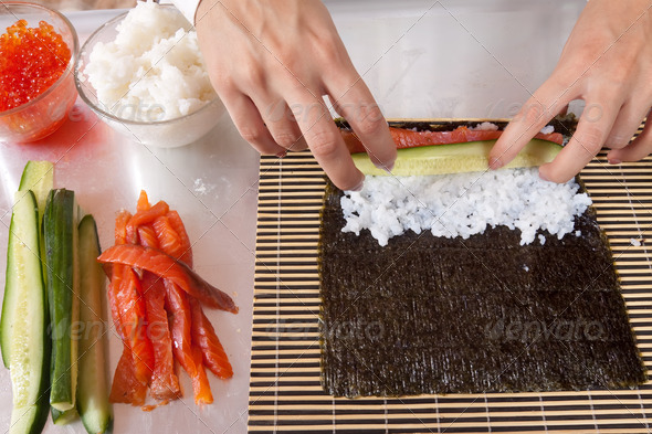Мастер класс по приготовлению суши в домашних условиях