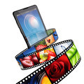 Streaming video with modern mobile phone - PhotoDune Item for Sale