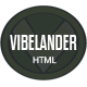 VibeLander One Page Responsive Template - ThemeForest Item for Sale