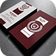 Elegant Red Business Card - GraphicRiver Item for Sale