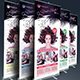 Hair Salon Roll Up Banner  - GraphicRiver Item for Sale