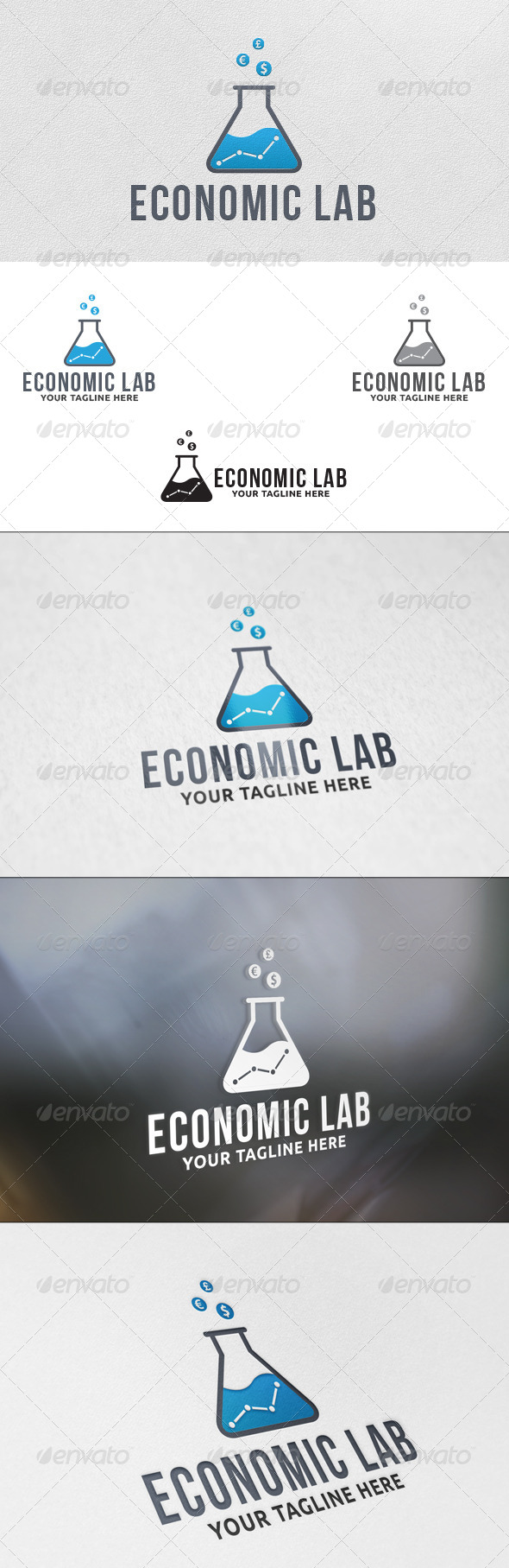 GraphicRiver Money Lab Logo Template 5765744