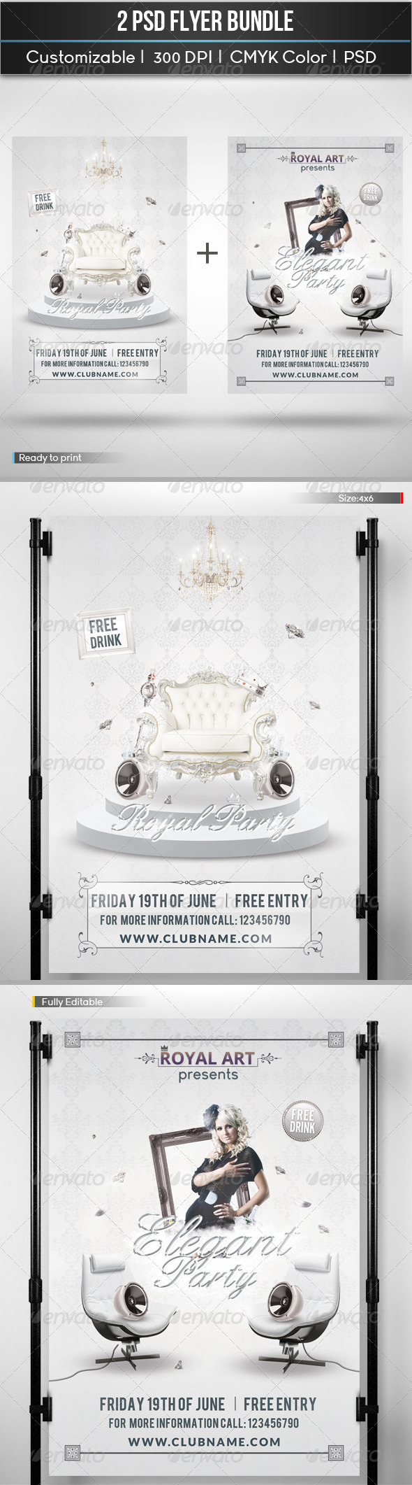 GraphicRiver Flyer Bundle 5711618