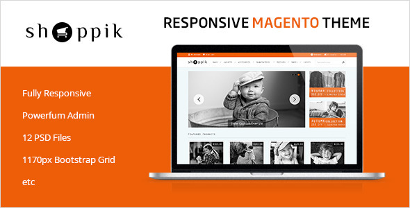 ThemeForest Shoppik Responsive Magento Theme 5752451