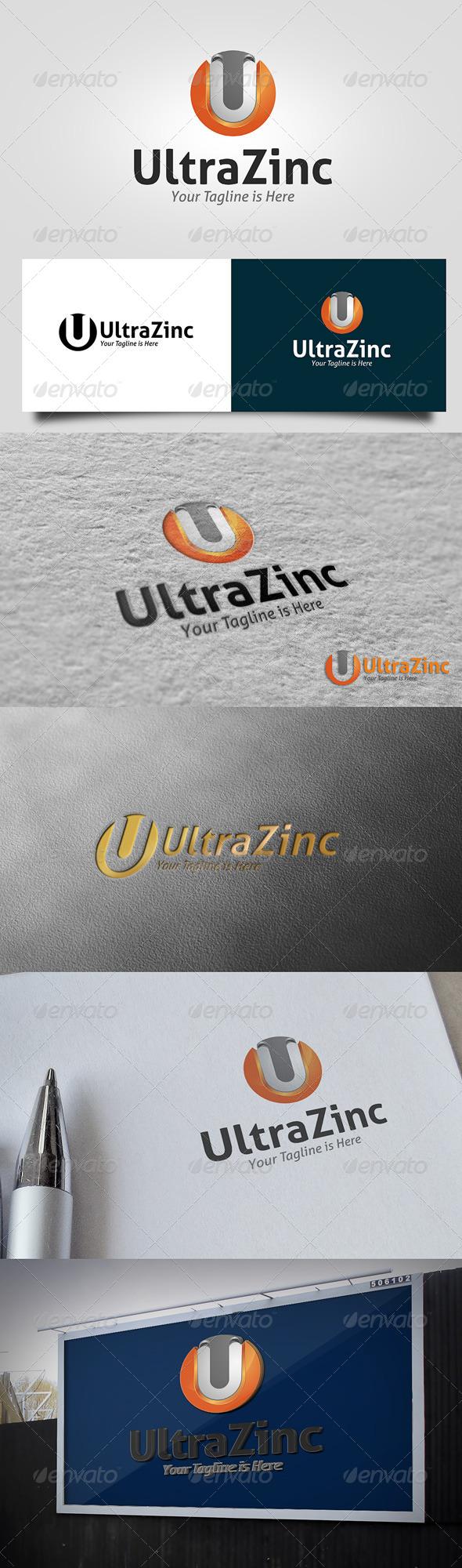 GraphicRiver Ultrazinc Logo 5766628