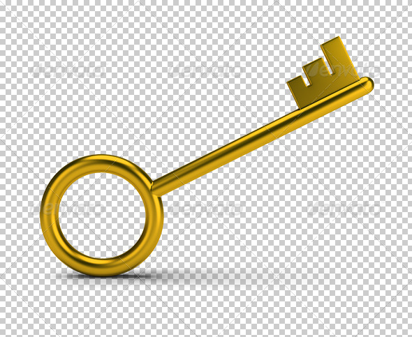 GraphicRiver Golden Key 5767151