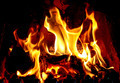 Open Fire in Fireplace - PhotoDune Item for Sale