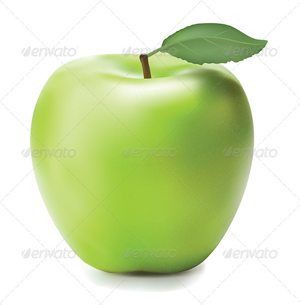 GraphicRiver Green Apple 5767545