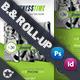 Fitness Time Billboard Roll-Graphicriver中文最全的素材分享平台