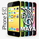 Apple iPhone 5C MAYA - 3DOcean Item for Sale