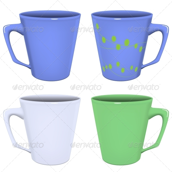 GraphicRiver Vector Illustration Tea Cup 5768341