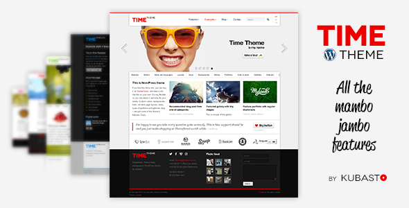 ThemeForest Time Responsive WordPress Theme 5736361