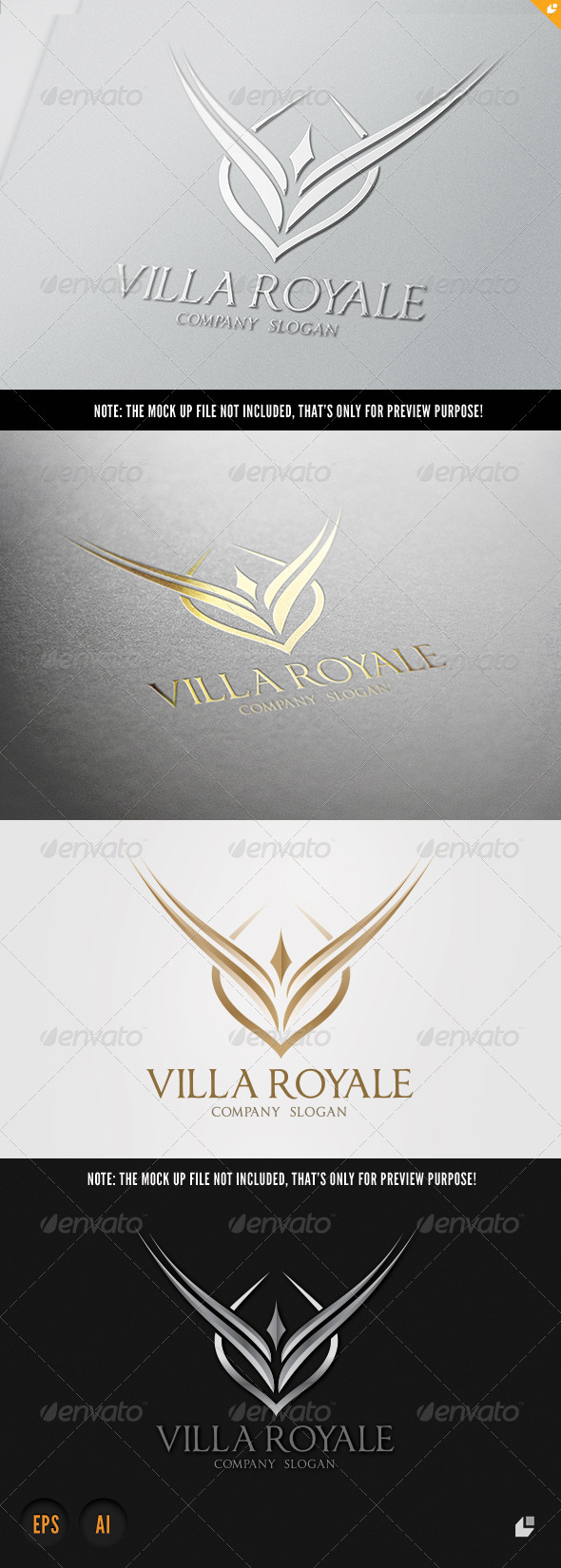 GraphicRiver Villa Royale Logo 5768887